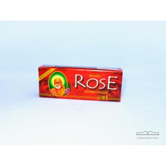 Ananda Rózsa templomi szertartásfüstölő 20g