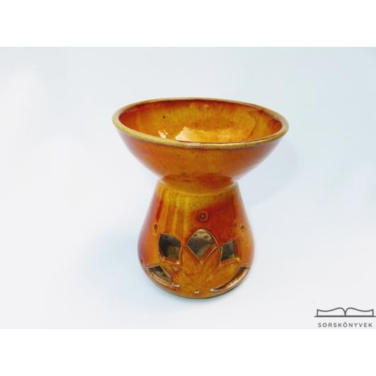 Aromalámpa narancs lótusz