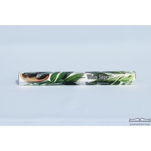 Darshan Fehér zsálya füstölő 20 db