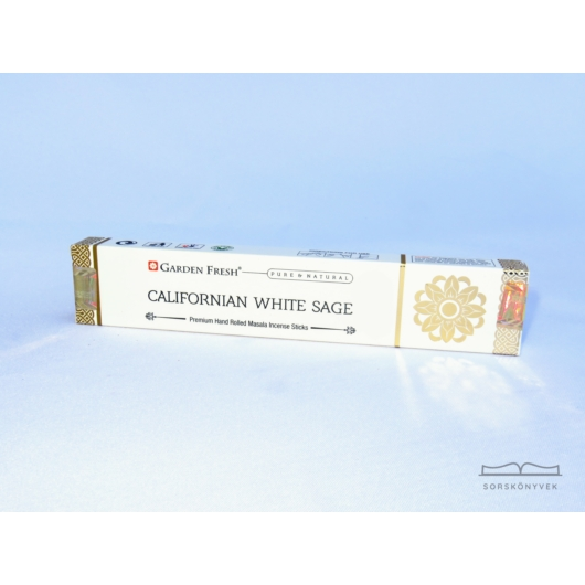 Garden Fresh Fehér zsálya füstölő 15g