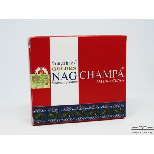 Golden Nag Champa  kúpfüstölő