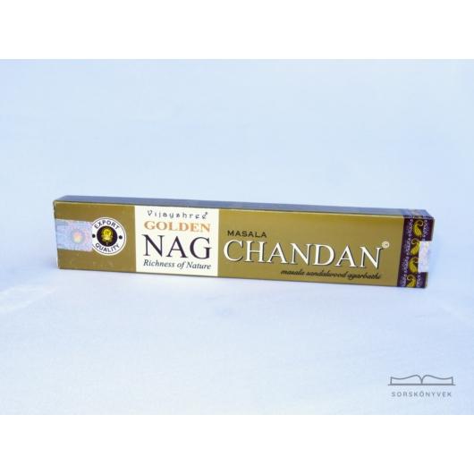 Golden Nag Chandan áldás füstölő 15g