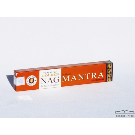 Golden Nag Mantra füstölő, 15g
