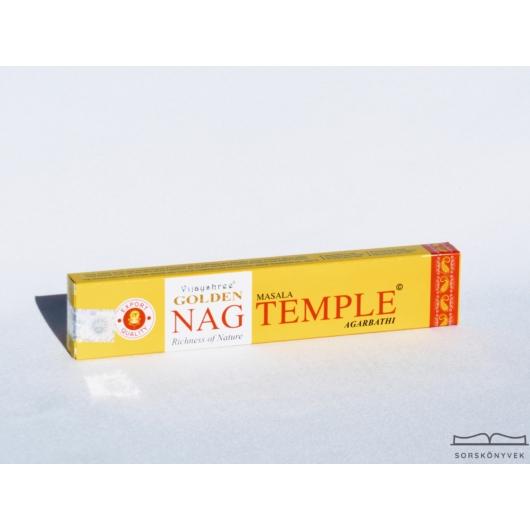 Golden Nag Templom füstölő, 15g