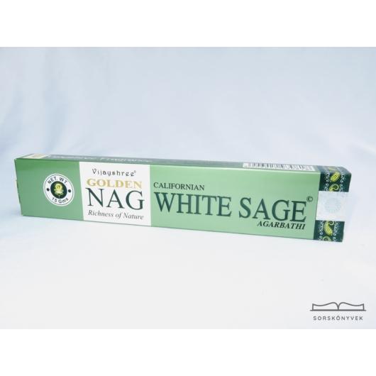 Golden Nag Fehér Zsálya füstölő 15g