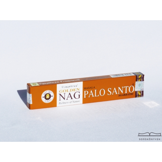 Golden Nag Palo Santo füstölő, 15g