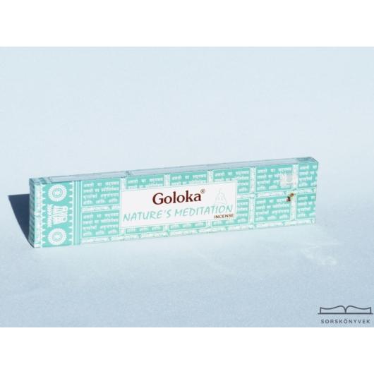 Goloka Természet Meditációja füstölő, 15g