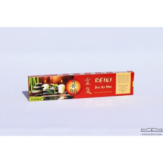 Goloka Reiki Felvilágosodás füstölő, 15g