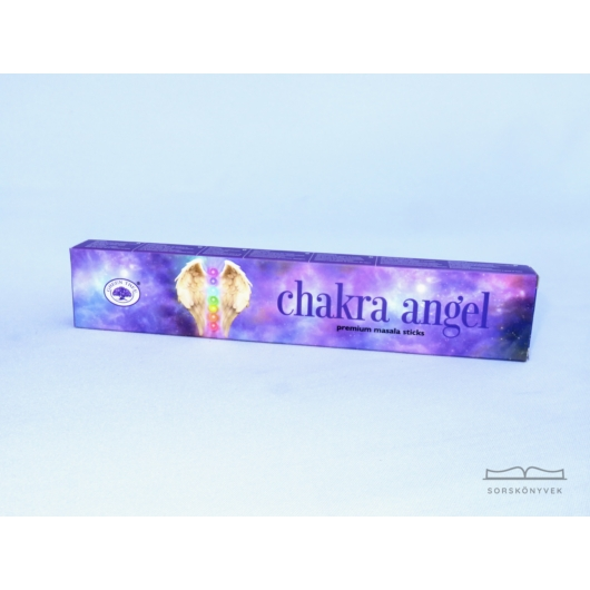 Green Tree Chakra Angel füstölő 15g