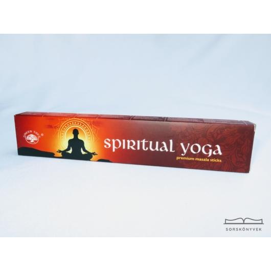 Green Tree Spiritual Yoga füstölő 15g