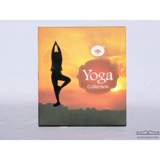 Green Tree Yoga Collection füstölő ajándékcsomag