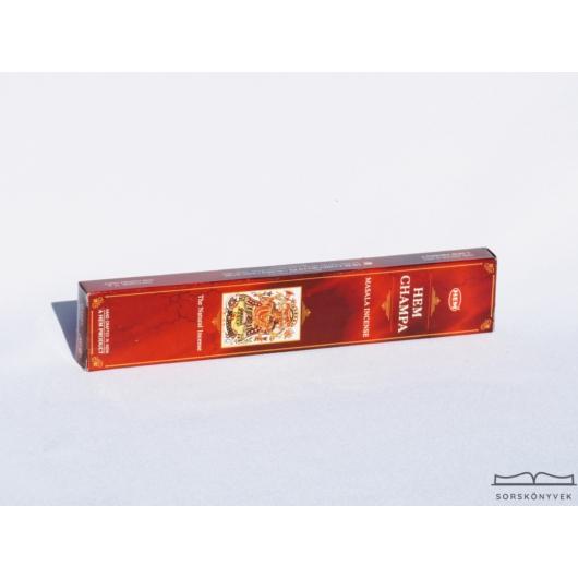 Hem Champa füstölő, 15g