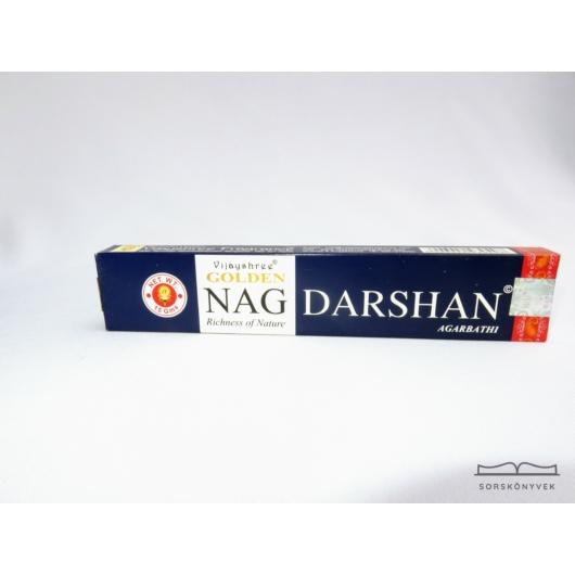 Golden Nag Darshan áldás füstölő 15g