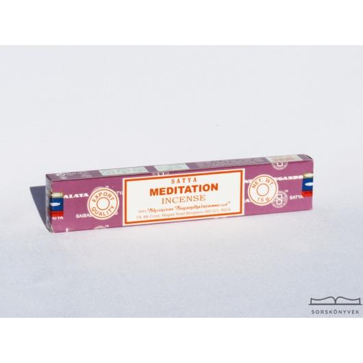 Satya Meditáció füstölő, 15g