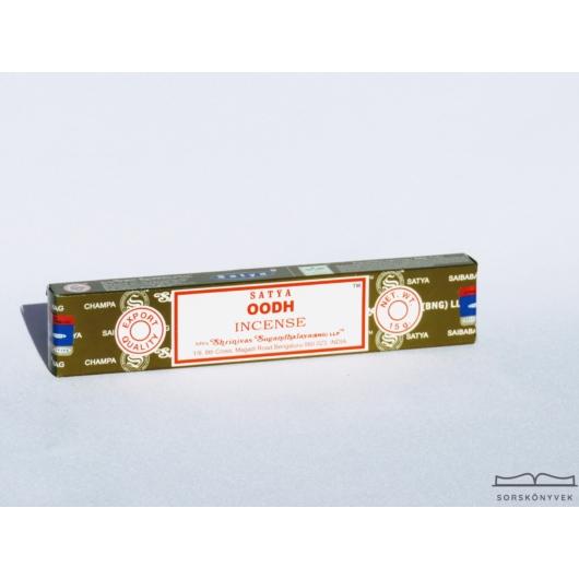 Satya Oodh Agarfa füstölő, 15g