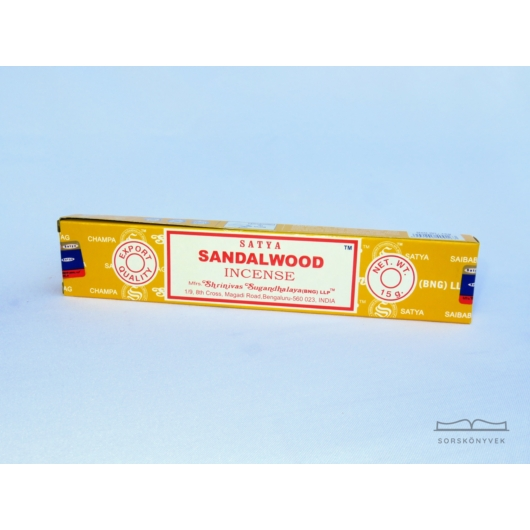 Satya Szantálfa füstölő 15g
