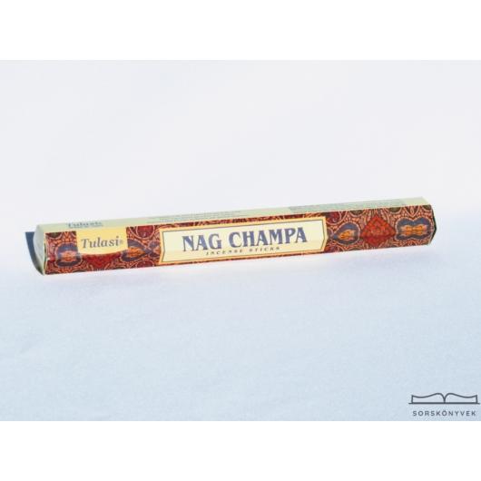Tulasi Nag Champa füstölő, 15db