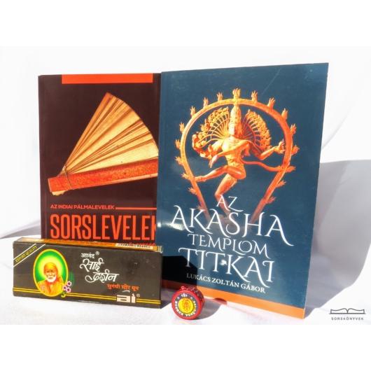Sorslevelek és Akasha templom titkai könyvcsomag