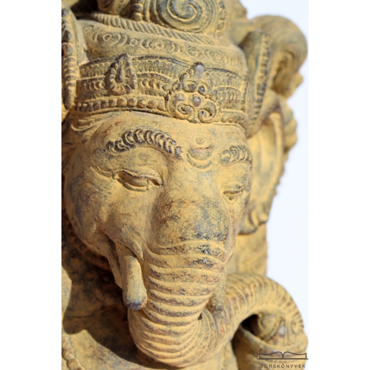 Áldást adó Ganésa szobor, 31 cm