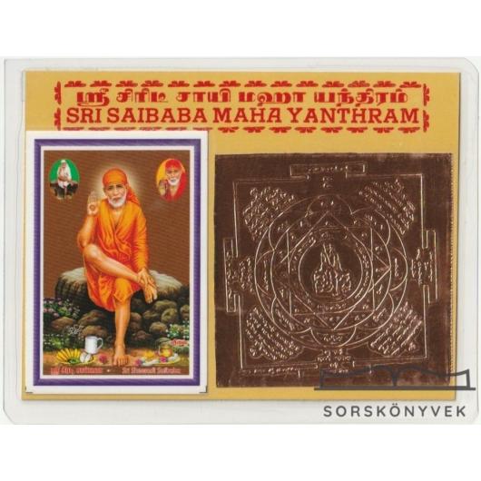Sri Sai baba yantra, önmegvalósítás, segítés, egyenlőség